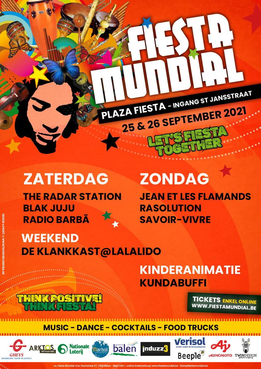 Affiche Fiesta 2021